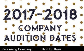 Audition Slide 2017